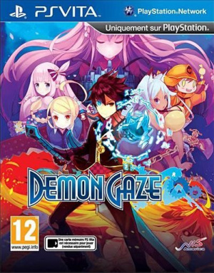 Demon Gaze sur Vita