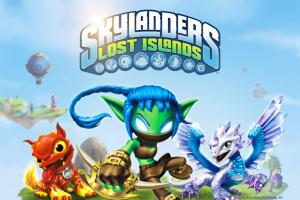 Skylanders : Lost Islands sur iOS