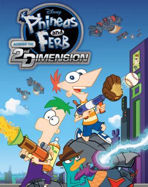 Phinéas et Ferb : Voyage dans la Deuxième Dimension sur Vita