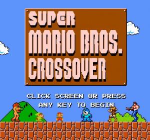 Super Mario Bros. Crossover sur Web