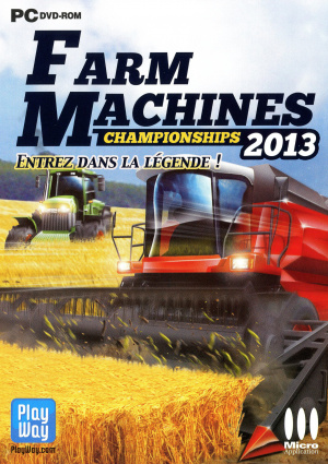 Farm Machines Championships 2013 sur PC