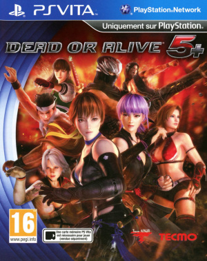 Dead or Alive 5 Plus sur Vita