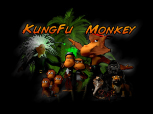 Kung Fu Monkey sur iOS