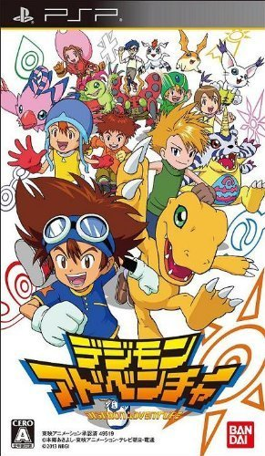 Digimon Adventure sur PSP