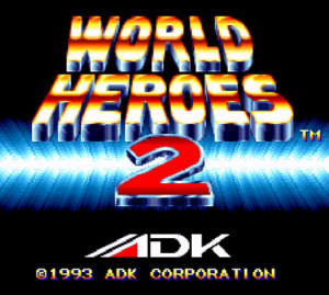 World Heroes 2 sur Wii