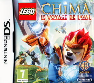 LEGO Legends of Chima : Le Voyage de Laval sur DS
