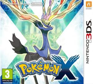Pokémon X sur 3DS