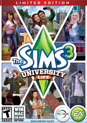 Les Sims 3 : University sur Mac