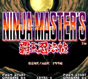 Ninja Master's sur Wii