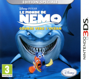 Le Monde de Nemo : Course vers l'Océan.EUR-3DS-CONTRAST