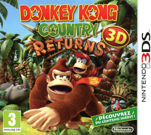 Donkey Kong Country Returns 3D sur 3DS