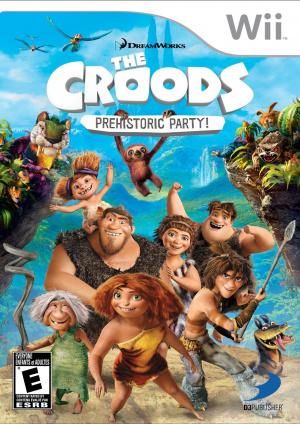 Les Croods : Fête Préhistorique sur Wii