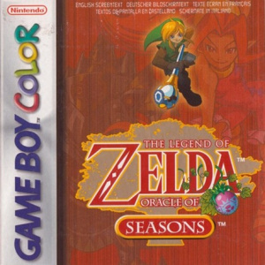 The Legend of Zelda : Oracle of Seasons sur 3DS