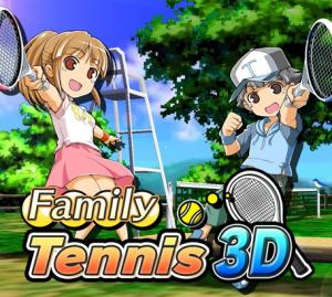 Family Tennis 3D sur 3DS