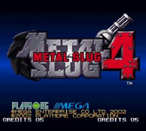 Metal Slug 4 sur Wii