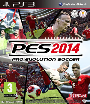 Pro Evolution Soccer 2014 sur PS3