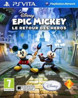Epic Mickey : Le Retour des Héros sur Vita
