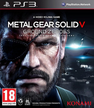 Metal Gear Solid V : Ground Zeroes sur PS3