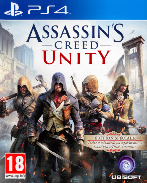 Assassin's Creed Unity sur PS4
