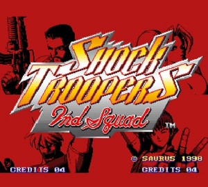 Shock Troopers : 2nd Squad sur Wii