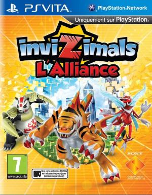 Invizimals : L'Alliance sur Vita