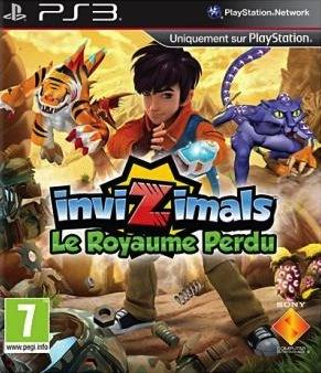 Invizimals : Le Royaume Perdu sur PS3