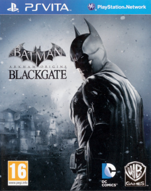 Batman Arkham Origins Blackgate sur Vita