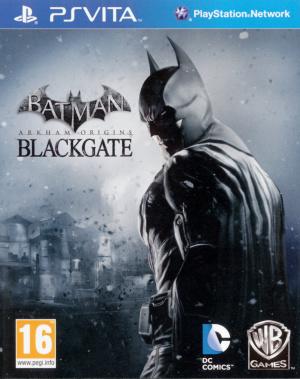 Batman Arkham Origins Blackgate sur Vita