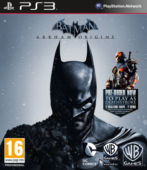 Batman Arkham Origins sur PS3