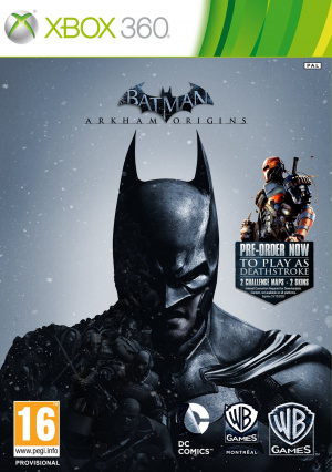 Batman Arkham Origins sur 360