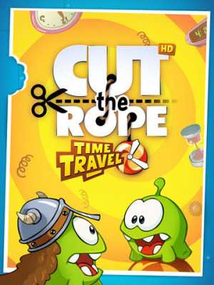 Cut the Rope : Time Travel sur iOS