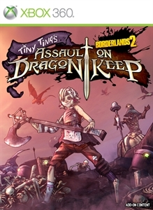 Borderlands 2 : Tiny Tina et la Forteresse du Dragon sur 360
