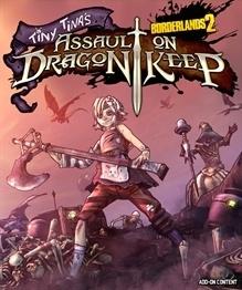 Borderlands 2 : Tiny Tina et la Forteresse du Dragon sur PS3