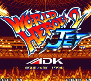 World Heroes 2 Jet sur Wii
