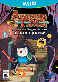 Adventure Time : Explore le Donjon et Pose pas de Question ! sur WiiU