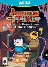 Adventure Time : Explore le Donjon et Pose pas de Question ! sur WiiU