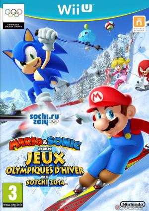 Mario & Sonic aux Jeux Olympiques d'Hiver de Sotchi 2014 sur WiiU