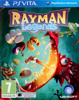 Jaquette de Rayman Legends