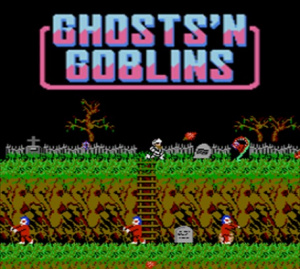Ghosts'n Goblins sur WiiU