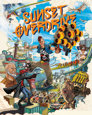 Sunset Overdrive sur ONE