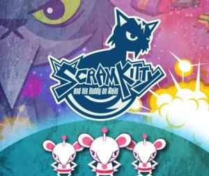 Scram Kitty and his Buddy on Rails sur WiiU