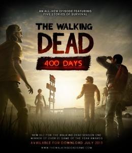 The Walking Dead : 400 Days sur Vita