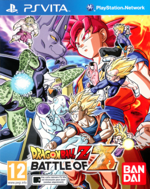 Dragon Ball Z : Battle of Z sur Vita