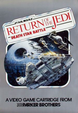 Star Wars: Return of the Jedi - Death Star Battle sur VCS