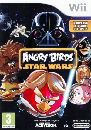 Angry Birds Star Wars sur Wii