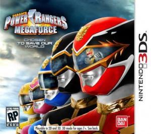 Power Rangers Mega Force sur 3DS