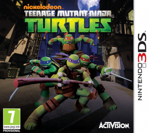 Nickelodeon : Teenage Mutant Ninja Turtles sur 3DS