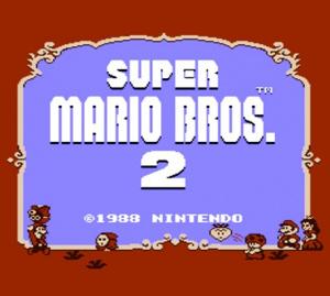 Super Mario Bros. 2 sur 3DS