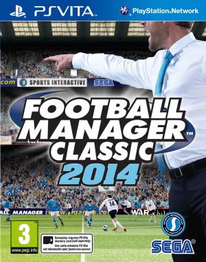 Football Manager Classic 2014 sur Vita
