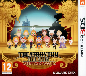 Jaquette de Theatrhythm Final Fantasy : Curtain Call